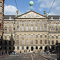 Royal Palace From Raadhuisstraat Street In Amsterdam by Artur Bogacki