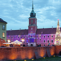 Royal Palace In The Old Town Of Warsaw by Artur Bogacki