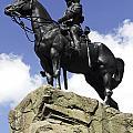 Royal Scots Greys Monument In Edinburgh by Dawn Gilfillan