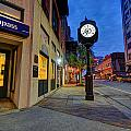 Royal Street Clock by Michael Thomas