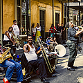 Royal Street Jazz Musicians by Kathleen K Parker
