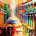 Royal Street Reflections by Diane Millsap