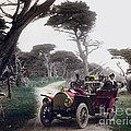 Royal Tourist Touring Car Model G3 Pebble Beach Calif. Circa 1908 by California Views Archives Mr Pat Hathaway Archives