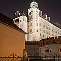 Royal Wawel Castle By Night In Krakow by Artur Bogacki