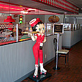 Rt 66 Dwight Il Betty Boop by Thomas Woolworth