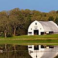 Rt 66 Hay Farm Oklahoma by T Lowry Wilson