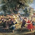Rubens, Peter Paul 1577-1640. A Peasant by Everett