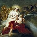 Rubens, Peter Paul 1577-1640. The Birth by Everett