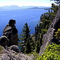 Rubican Trail View Of  Lake Tahoe by Frank Wilson