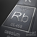 Rubidium Chemical Element by Science Picture Co