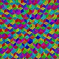 Rubik's Cube Abstract by Tony Rubino