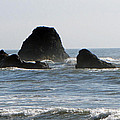 Ruby Beach Sea Stack by Tikvah's Hope