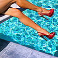 Ruby Heels Not In Kansas Palm Springs by William Dey
