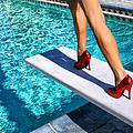 Ruby Heels Ready For Take-off Palm Springs by William Dey
