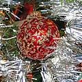 Ruby Red Ornament by Elizabeth Dow