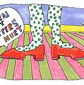 Ruby Slippers by Linda Blondheim