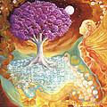 Ruby Tree Spirit by Valerie Graniou-Cook