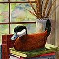 Ruddy Duck Decoy by Marilyn Smith