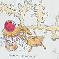 Rudolph The Reindeer Cartoon by Mike Jory