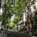 Rue Caulaincourt Montmartre by Vladimir Fomin