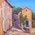 Rue De Gordes by Dianne Panarelli Miller