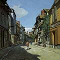Rue De La Bavole by Claude Monet