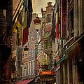 Rue Des Bouchers by Joan Carroll