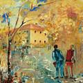 Rue Du Seminaire by Aline Halle-Gilbert