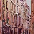 Rue Galande by Jenny Armitage