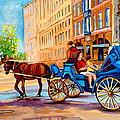 Rue Notre Dame Caleche Ride by Carole Spandau