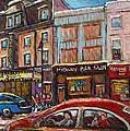 Rue Saint Laurent Club Soda Montreal by Carole Spandau