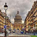 Rue Sufflot In Paris by Radu Razvan