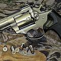 Ruger Security Six Still Life by Kent Dunning