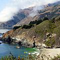 Rugged California Seashore by Jeff Lowe