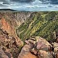 Rugged Edge Of The Canyon by Adam Jewell