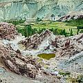 Ruins At Basgo Monastery Ladakh India by Rudra Narayan  Mitra