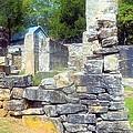 Ruins At Cosley Mill by James Potts