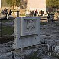 Ruins At The Roman Forum by Jason O Watson