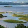Ruins In Lough Corrib  Connemara by Carl Bruemmer