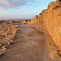 Ruins Of A Fort, Masada, Israel by Panoramic Images