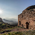 Ruins Of A Stone Building  Corinth by Reynold Mainse