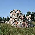 Ruins Of A Stone Silo by Susan Wyman