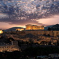 Ruins Of A Temple, Athens, Attica by Panoramic Images