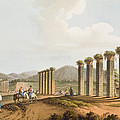 Ruins Of An Aqueduct Near Ephesus, 1810 by Luigi Mayer