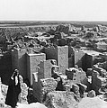 Ruins Of Babylon by Underwood Archives