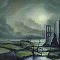 Ruins Of Cathedra by James Christopher Hill