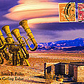 Ruins Of Fort James B. Polka And Prototype Gatling Tubas by Dominic Piperata