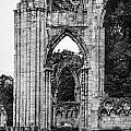 Ruins Of St. Mary's Abbey by Ross Henton