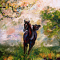 Running Free Horse Painting by Ginette Callaway