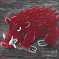 Running Razorback by Mona Elliott